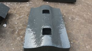 Mining Equipment Metso Crusher Parts Jaw Crusher Spiral Lining Plate pictures & photos