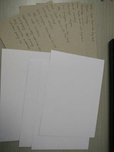 Coated Duplex Board of Grey Back & Liansheng (KEERUN 120) pictures & photos
