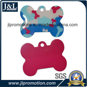 High Quality Aluminum Pet Tag in Bone Shape pictures & photos
