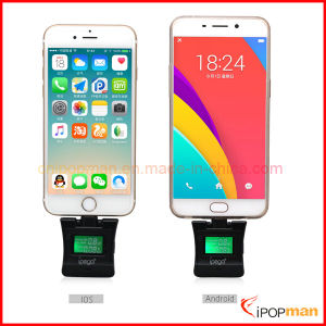 2 in 1 Alcohol Tester Apple Alcohol Breath Tester LCD Breath Alcohol Tester pictures & photos