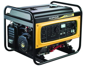 Kipor 6kw Single/Three Phase Gasoline Generator Kge6500e/Kge6500e3 pictures & photos
