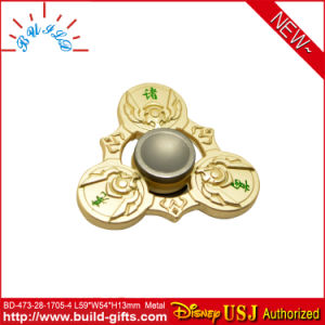 Plastic Fashion Toy Matal Fidget Spinner pictures & photos