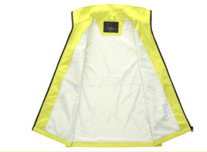 High Reflective Tape Safety Wear Yellow Working Clothing Safety Vest pictures & photos