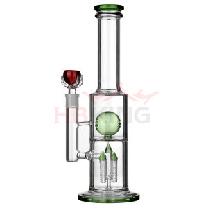 High Quality 47cm Borosilicate Material Glass Water Pipe pictures & photos