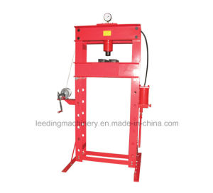 50t Pneumatic/Hydraulic Shop Press with Gauge pictures & photos