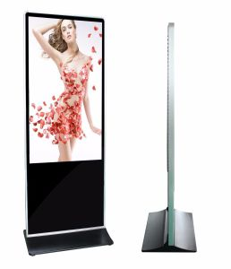 "65"" Shopping Center Standalone Digital Signage Player, Floor Standing LCD Advertising pictures & photos"