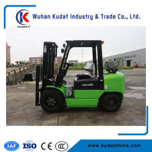 Ce Approved 3.0ton Gasoline LPG Forklift pictures & photos