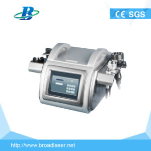 Table Top Ultrasound Cavitation RF Vacuum Face Body Slimming Machine pictures & photos