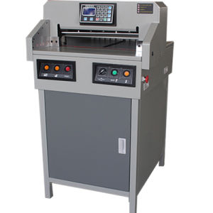 Manufacturer 18 Inch Program-Control Paper Cutting Machine (WD-4605R) pictures & photos