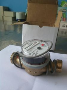 10L/Pulse Single Jet Water Flow Meter pictures & photos
