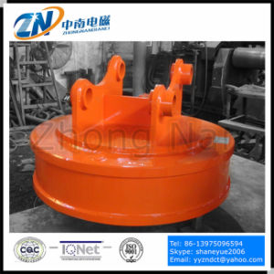 Circular Electromagnetic Lifter Suiting for 10t Excavator Emw-180L pictures & photos