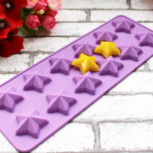 Star Shape Durable Silicone Ice Cube Tray/Ice Form/Ice Tray pictures & photos