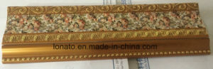 Hot Sell 9cm PS Cornice Moulding with Different Hot Stamping pictures & photos