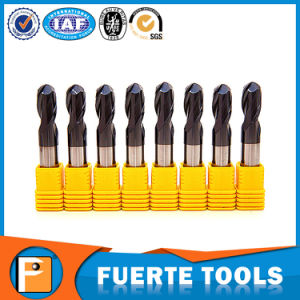 Solid Tungsten Carbide Spherial Ball Nose Milling Tools pictures & photos