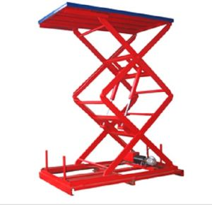 Hot Sale 500kg Stationary Hydraulic Lift Table pictures & photos