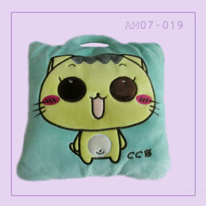 Cat Cute Popular Pillow Cushion with Animal Printing pictures & photos