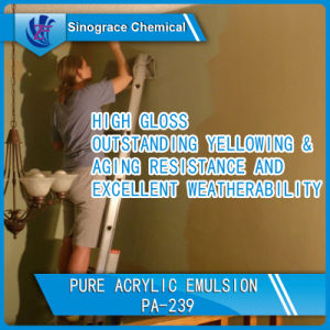 Water Based Pure Acrylic Emulsion for Wall Paint pictures & photos