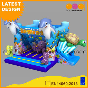 Undersea World Inflatable Bouncer Slide Combo (AQ01742) pictures & photos