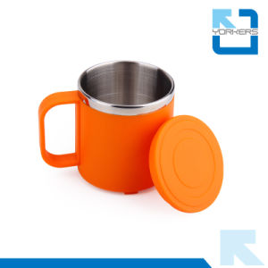 6 Colors Stainless Steel Double Wall Water Cup Drinking Cup for Children pictures & photos