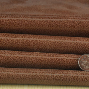 Fire Cracks PU Leather for Shoes, Bags, Garment, Furniture, Decoration (HS-Y84) pictures & photos