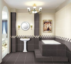 Salt and Pepper Full Body Porcelain Tiles 400*800, 600*600mm pictures & photos