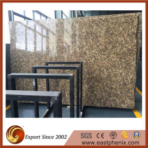 Hot Sale Giallo Fiorito Granite Stone Slab pictures & photos