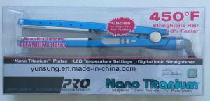 Hair Straightener Titanium with LED pictures & photos