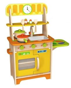 Hot Christmas Sale Wooden Doll Kitchen Toy for Kids and Children pictures & photos