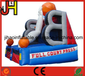 Basketball Court Inflatable Basketball Hoop for Shooting Games pictures & photos