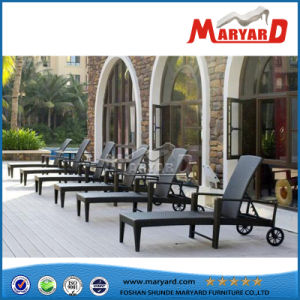 Outdoor PE Rattan Chasie Lounge for Pool pictures & photos