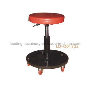 Pneumatic Rolling Adjustable Mechanic Stool Seat pictures & photos