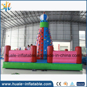 Inflatable Rock Climbing Wall, Inflatable Climbing Wall for Sport Game