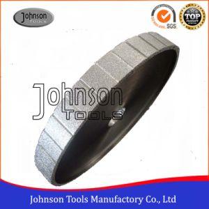 350mm Flat Vacuum Brazed Diamond Granite Profiling Wheel pictures & photos
