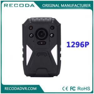 Night Vision 1296p Police Body Worn Camera with GPS pictures & photos