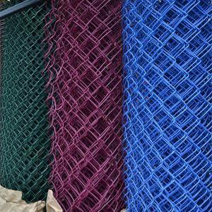 Factory Directly Supply Weave Wire Diamond Mesh Chain Link Fence pictures & photos