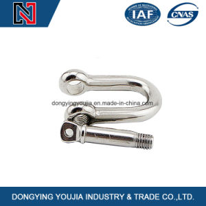 Stainless Steel Drop Forged Screw Pin Anchor Shackle for Rigging pictures & photos