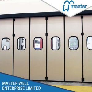 Warehouse Fold up Roll up Industrial Door pictures & photos