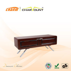 Living Room LCD TV Stand Wooden Furniture Can Load 70kgs/154lbs Tvs (CT-FTVS-Q101) pictures & photos