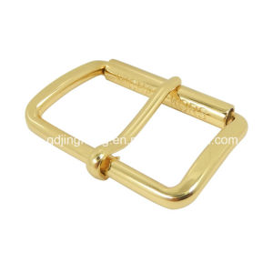Logo Engraved Metal Belt Buckle Roller Buckle Pin Buckle (25*15mm) pictures & photos