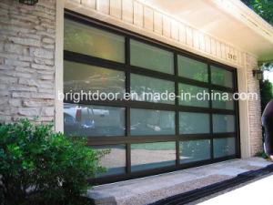 Insulated Glass Garage Door, Aluminum Glass Garage Door pictures & photos