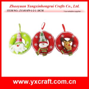 Christmas Decoration (ZY14Y423-1-2-3) Christmas Door Knob Hoop Artificial Christmas Tree pictures & photos