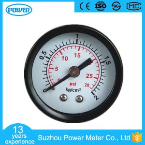 40mm Black Steel Case High Quality Manometer pictures & photos