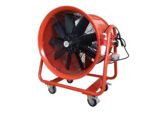 Hand-Pushed Big Power Portable Ventilator 24inch pictures & photos