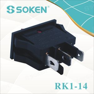 Soken Home Appliance 250VAC 16A on-off Rocker Switch T85 pictures & photos