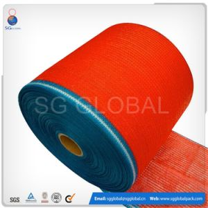 White PE Raschel Mesh Fabric Roll for Bag pictures & photos