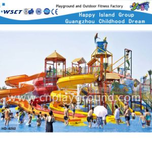 Multiple Spiral Water Slide in Water Park (HD-6202) pictures & photos