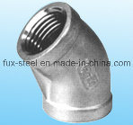Seamless Stainless/Carbon Steel Tube Fittings Elbow pictures & photos