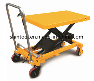 1000kg Mini Scissor Lift Table SPA1000 with Max. Height 1000 Mm pictures & photos