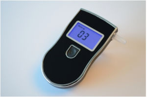 Breathalyzer Drive Safety Digital Alcohol Breath Tester with Blue Backlight pictures & photos