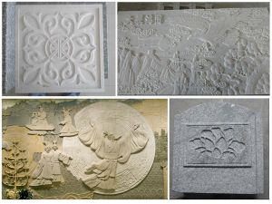 CNC Stone Carving Machine 3D pictures & photos